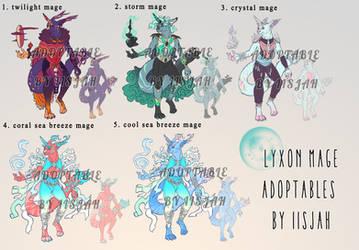 Lyxon mages - Adoptables Batch 1
