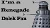 Renegade Dalek Stamp by GeneralDroid