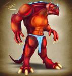 Lizard Man Concept