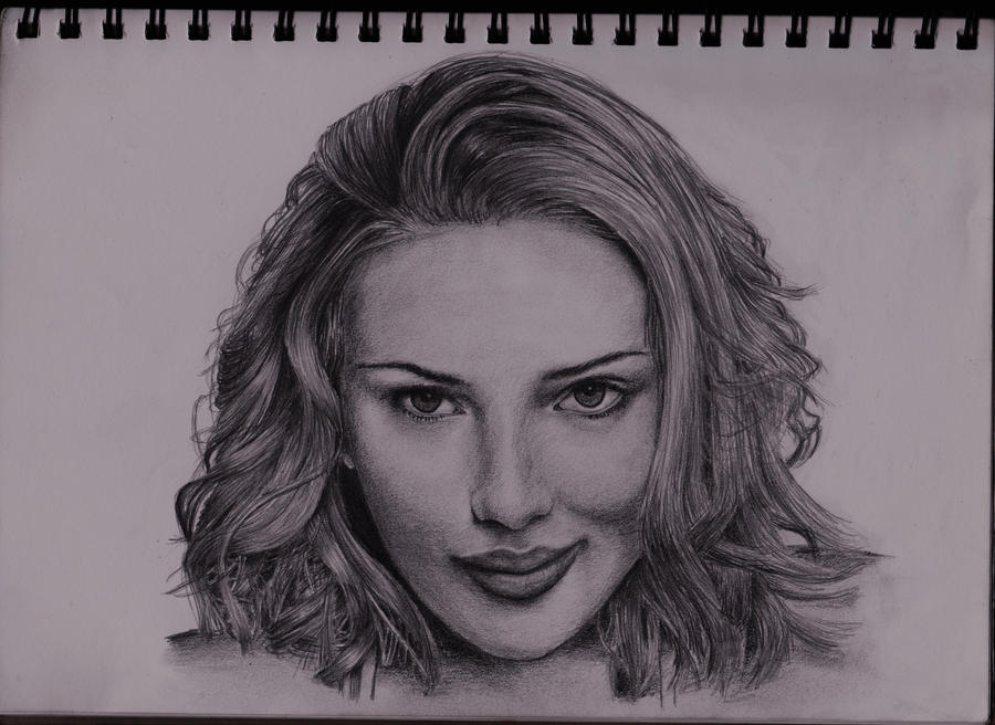 Scarlett Johansson by Yeah-Drawing-Yeah
