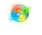 Windows 7 Glowing Start Button by salmanarif