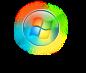 Windows 7 Glowing Start Button by salmanarif
