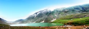 Lake Saif-ul-Mulook Panorama