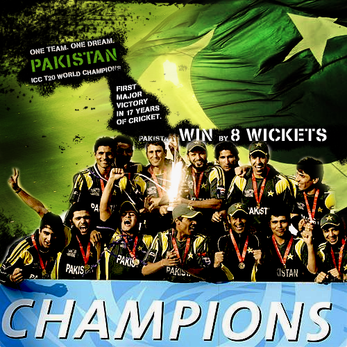 PAKISTAN - The World Champions by salmanarif