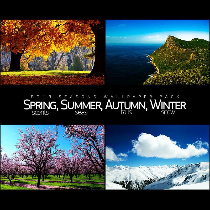 Four Seasons Wallpaper Pack By Salmanarif On Deviantart