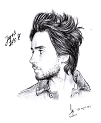 Jared Leto - Portrait by Mallowee