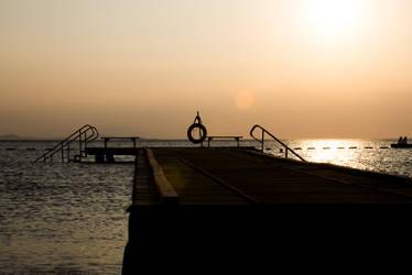 Summer Sunset II by boraakbay