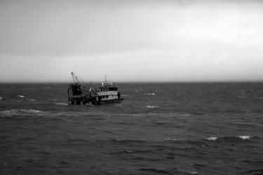 Black Sea Tide I by boraakbay