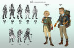 Character Designs - College Assignment
