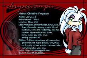 dev eye dee - one point oh by chryseevampu