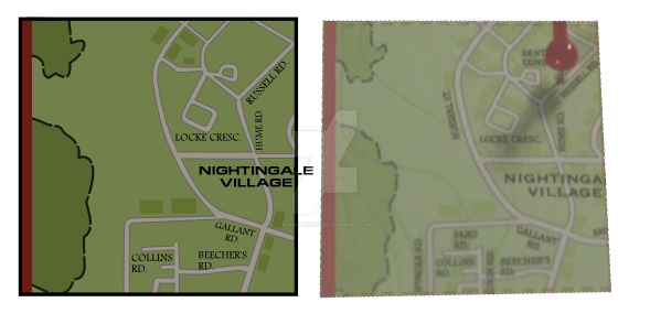 Storybrooke Maine Map  Part  WIP By AJHalliwell On