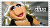 Miss Piggy Stamp by Chevsapher
