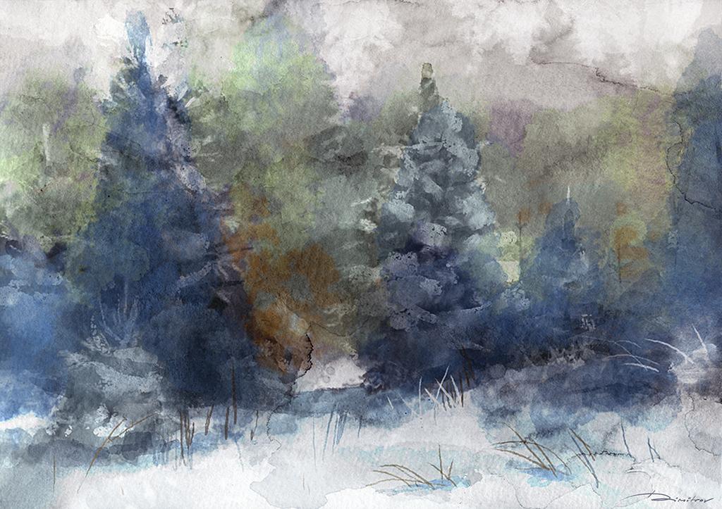 Winter by konsart