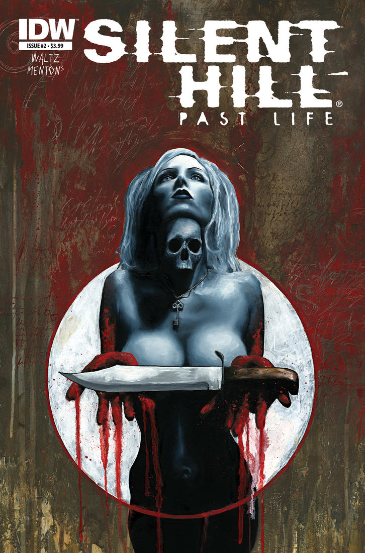 Silent Hill Past Life cover 2 by menton3