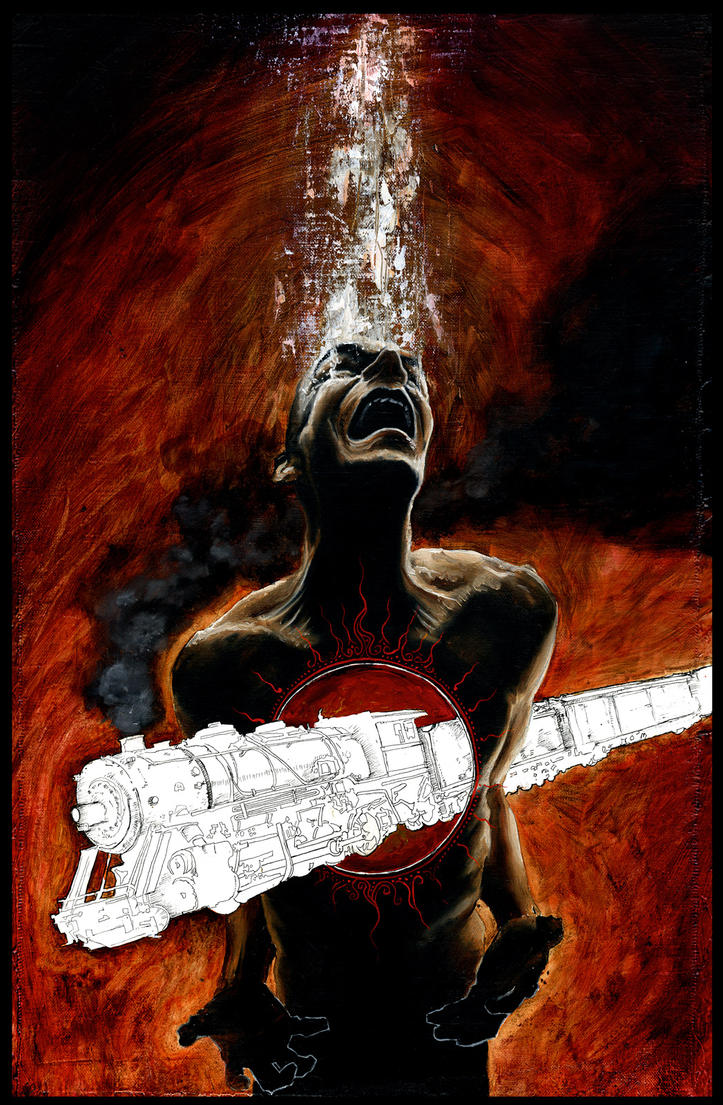 Hell-Bound Train Cover 1 by menton3