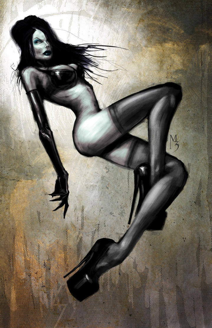 Pin Up Try 3 speed painting by menton3