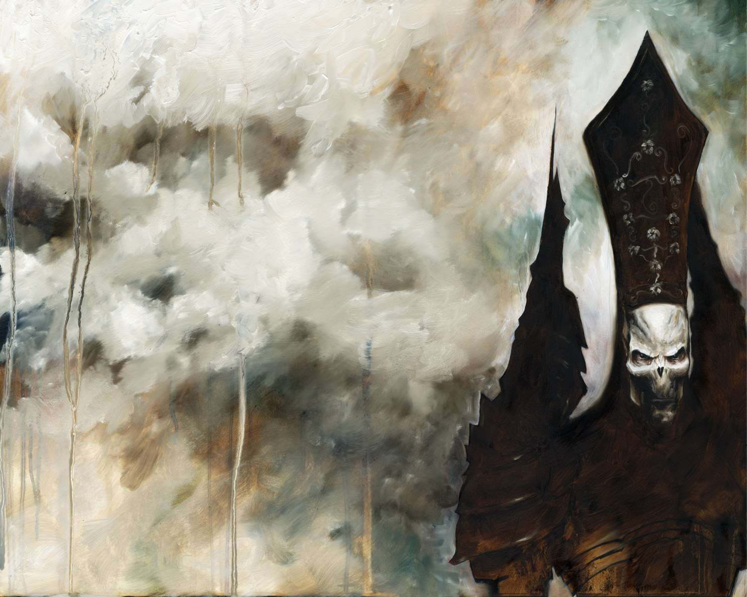 Azrael painting 2 by menton3