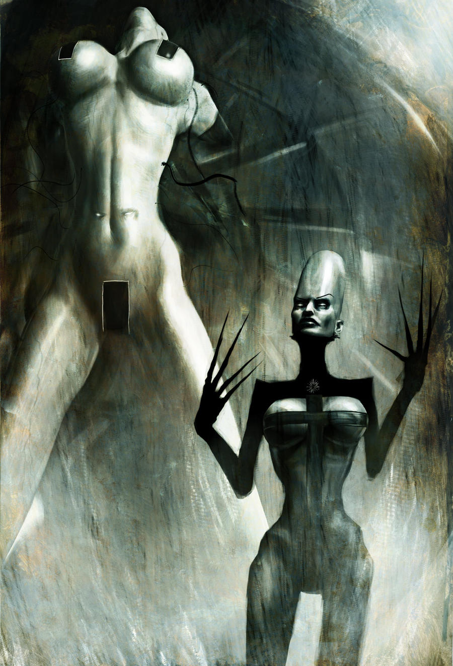 The Shepherd and The Defense mechanism by menton3