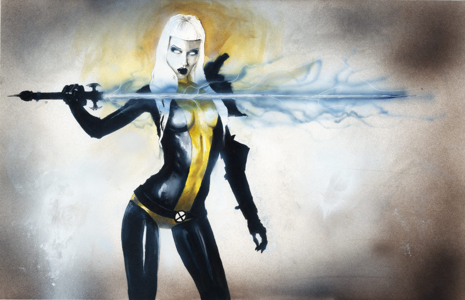 Illyana Rasputin MAGIC by menton3