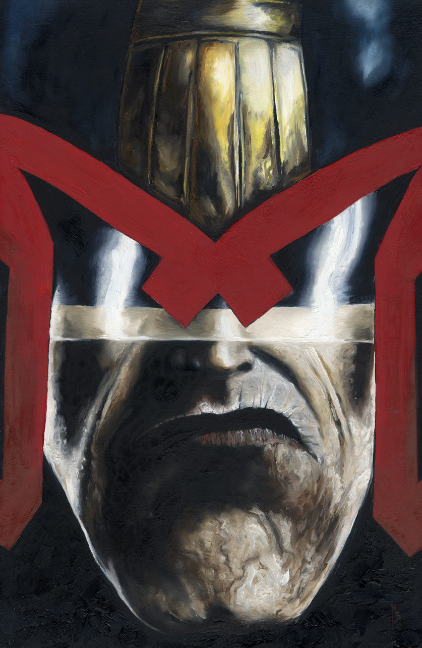 Judge Dredd by menton3