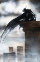 Batman rooftop 1 by menton3