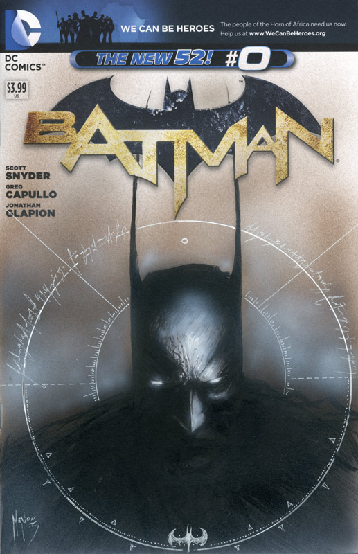 batman blank cover with original art by menton3 d5gcnv4 Comic Review:  Transfusion #1 3 (IDW)