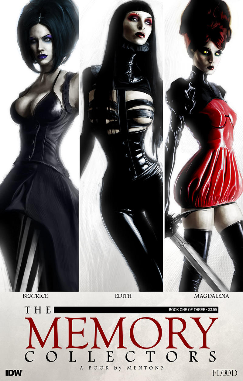 The Memory Collectors cover A1 by menton3