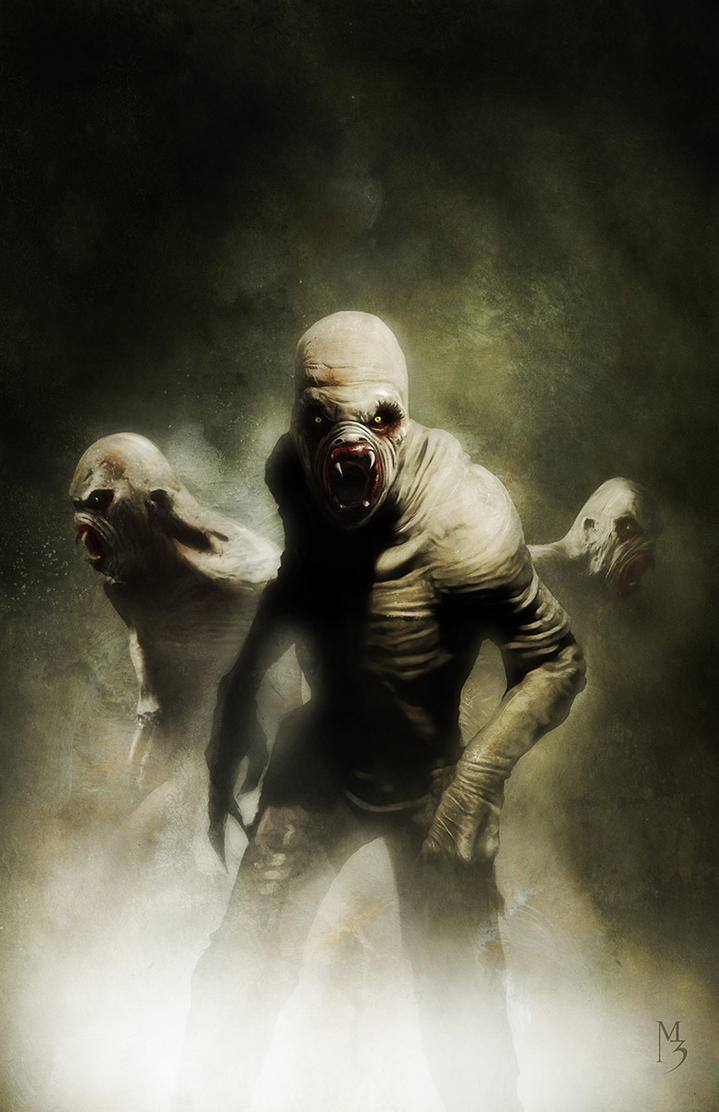 Flukemen X-files cover by menton3