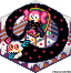 Cubecollab: Charlotte, the Witch of Sweets (white) by SymbolsWriter