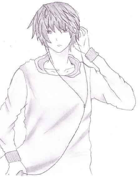 Music Anime Boy By AkinaSanni