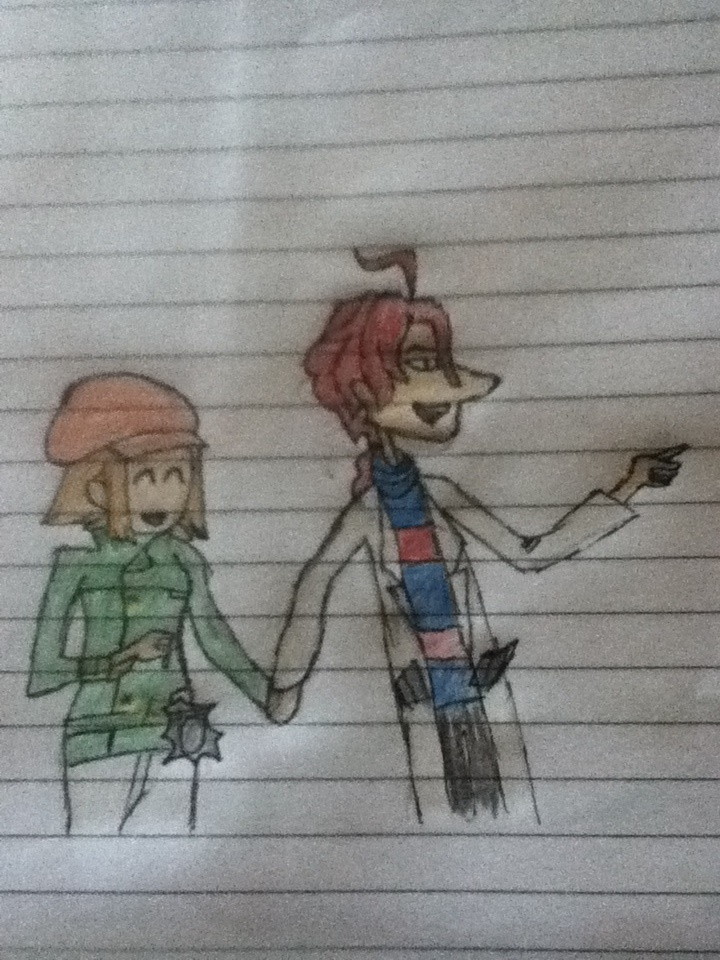 Potty Prof and Lucy by ZeAwesomePrussia98