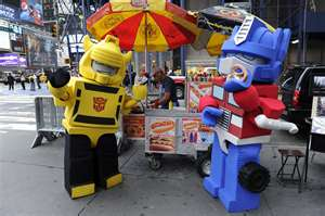 Me and Optimus Prime by KRE-OBumblebee