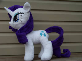 Rarity Plushie by eebharas