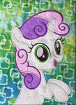 Sweetie Belle Quilt Square