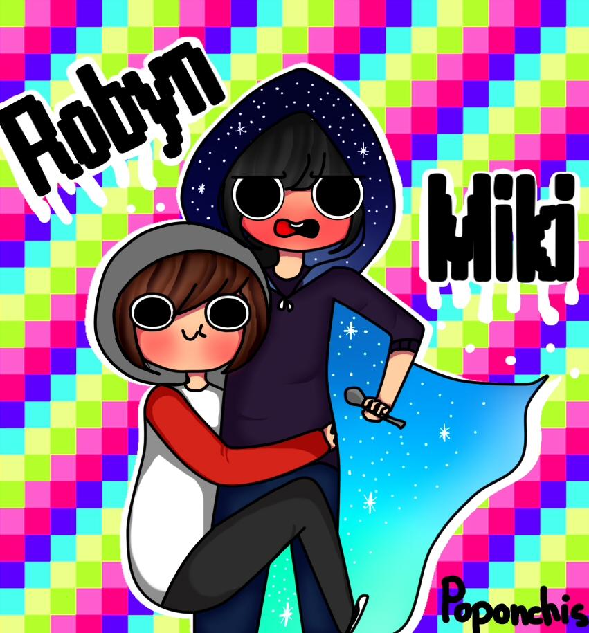 Miki y Robyn by Poponchis