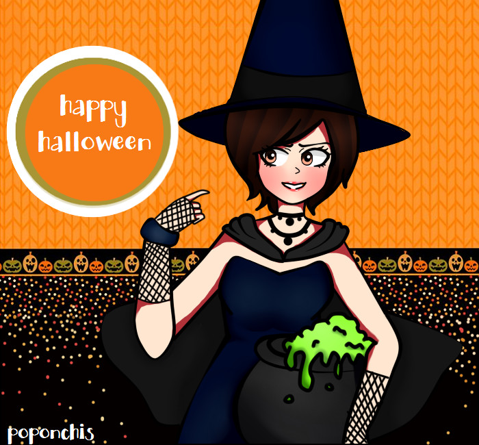 Halloween! by Poponchis