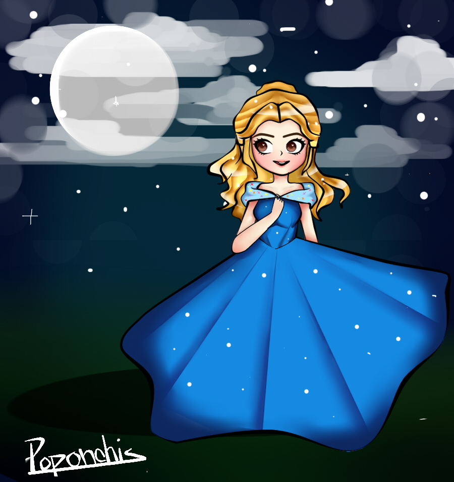 Cinderella by Poponchis
