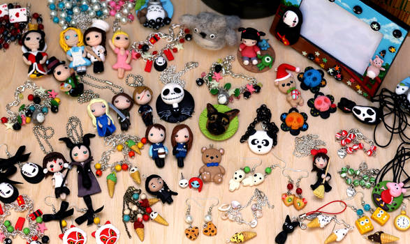 A bit of polymer clay