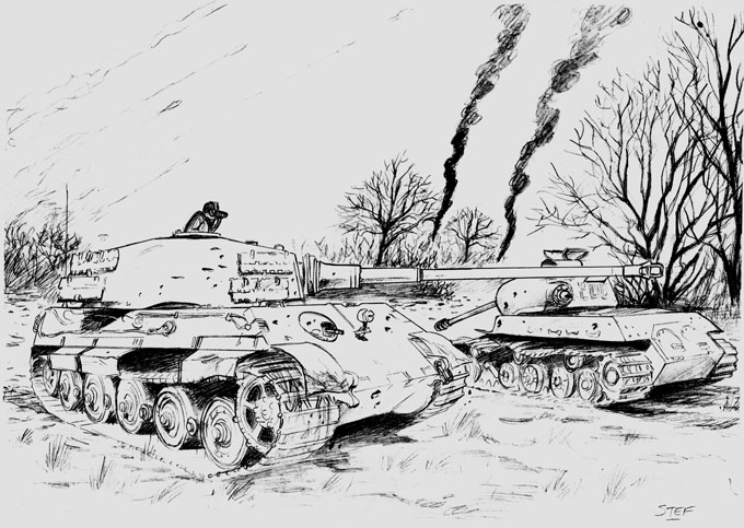 Tiger II and IS-2m version 2 by hardbodies