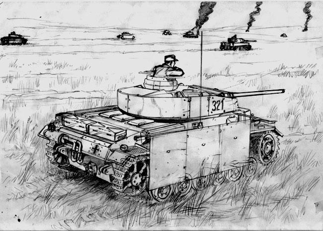 Panzer III ausf. M by hardbodies