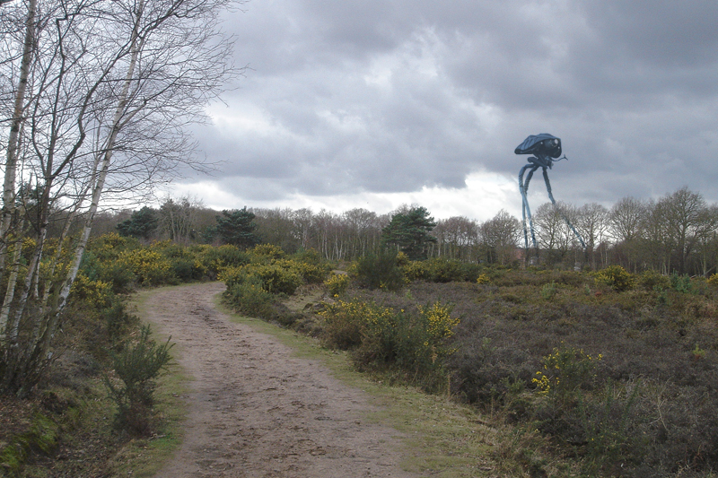 War of the Worlds A_walk_in_Horsell_Common_by_hardbodies