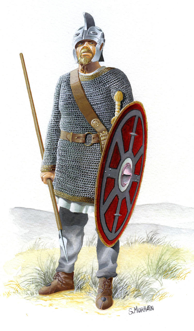 Late Roman Soldier by hardbodies