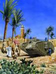 British Tank in Gaza 1917