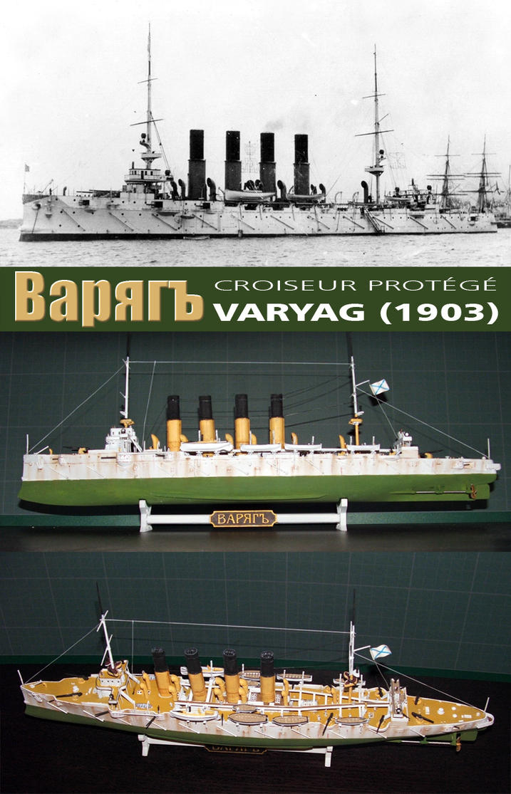 Protected Cruiser Varyag by hardbodies