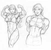 Heather Studies by hardbodies