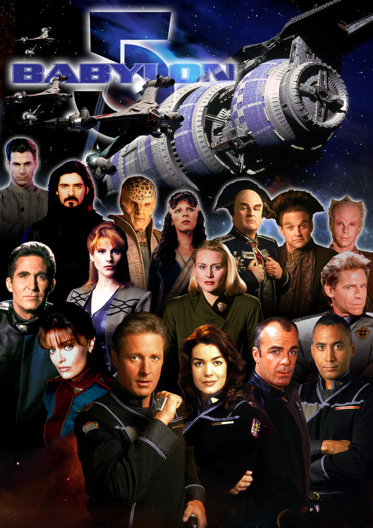 Babylon 5 Cast Poster 2 by hardbodies