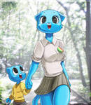 gumball and his mom