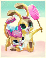 Let's eat some sweets by Usappy-BarkHaward