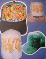 First Graffiti Hat by 3FF3CT