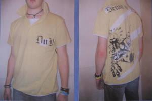 Drum N Bass Polo Shirt by 3FF3CT
